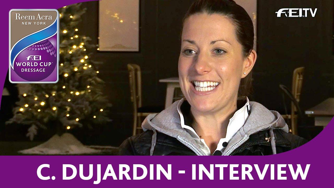 Charlotte dujardin interview london olympia reem for Dujardin interview