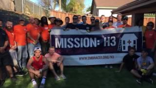 H3 Mission #11 - Niani Wiggins - www.Embrace1.org