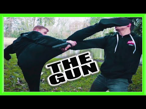 'THE GUN' Fight Scene | GNT (Flips & Kicks)