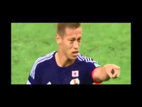 本田圭佑スーパーゴール!! ワールドカップ2014 日本代表VSコートジボワール戦