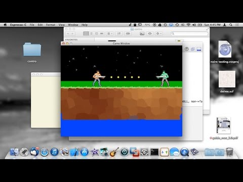 Learning C Game Programming - Simple Gun Shooting