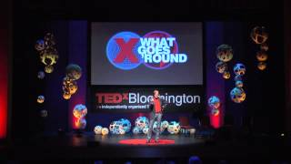 See like an artist, think like a designer, feel like a human: T. Kelly Wilson at TEDxBloomington