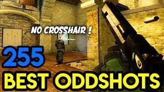 """No CROSSHAIR ONE DEAGS"" - CS:GO BEST ODDSHOTS #255"