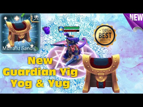 Royal Revolt 2 L New Guardian Yig Yog & Yug Game Play And Informations (152 DailyGuardianChest Open)
