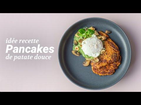 recette-de-pancakes-de-patate-douce