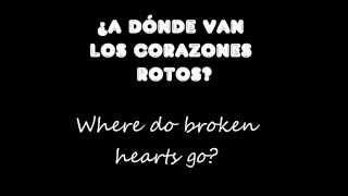 One Direction - Where Do Broken Hearts Go [subtitulada en español]