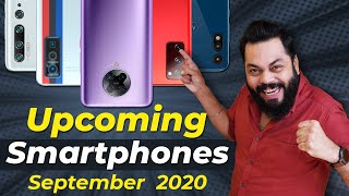 Top 10+ Best Upcoming Mobile Phone Launches ⚡⚡⚡ September 2020
