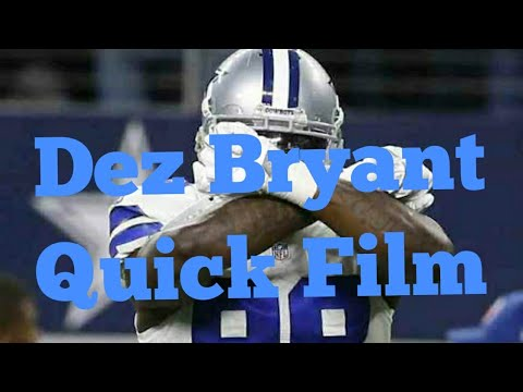 Quick Film On Dez Bryant Drops And Separation