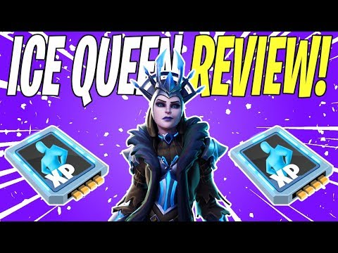 IS THE ICE QUEEN A GOOD HERO? Ice Queen Hero Gameplay Review | Fortnite Save The World