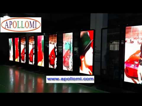 P5 stand HD Indoor LED Poster Display billboard