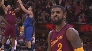 Kyrie Irving Game Winner vs Warriors Christmas! Richard Jefferson Dunks on Klay Thompson!