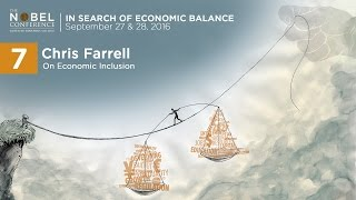Chris Farrell presenting at Nobel Conference 52