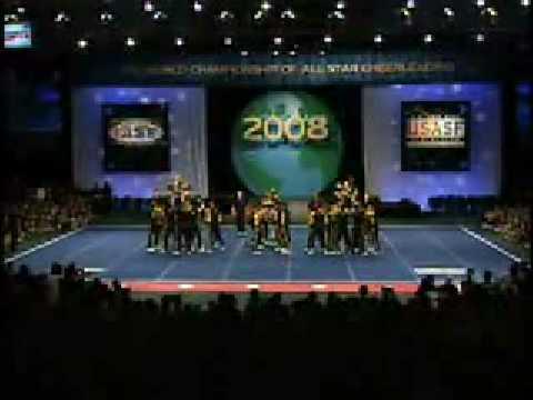 2008 Cheerleading Worlds Top Gun Sr Unlimited Co Ed