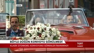 TGRT haber - Böyle Düğün Konvoyu Görülmedi
