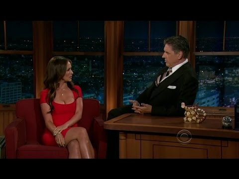 Late Late Show with Craig Ferguson 5/23/2012 Jennifer Love H