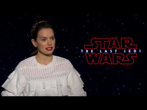 Daisy Ridley: How to Fight with a Lightsaber; Filming with Mark Hamill in STAR WARS: THE LAST JEDI