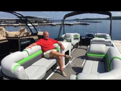 Hurricane 236 fundeck walkthrough video