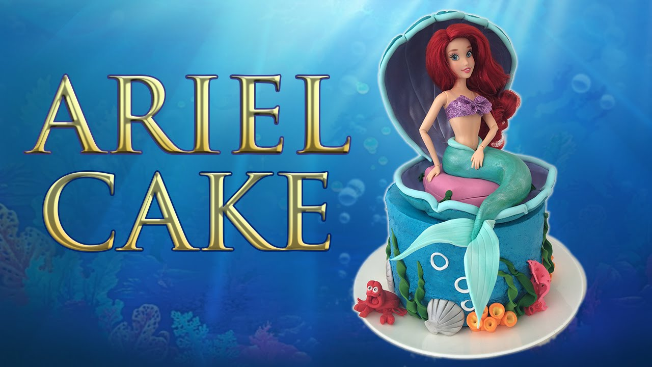 ARIEL LITTLE MERMAID CAKE How To Cook That Ann Reardon YouTube