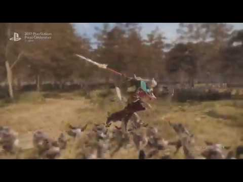 Dynasty Warriors 9 TGS Gameplay Trailer 2017 PS4 XBX PC
