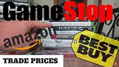 Best Video Game Trade In Prices! Gamestop vs. Amazon vs. Best Buy?