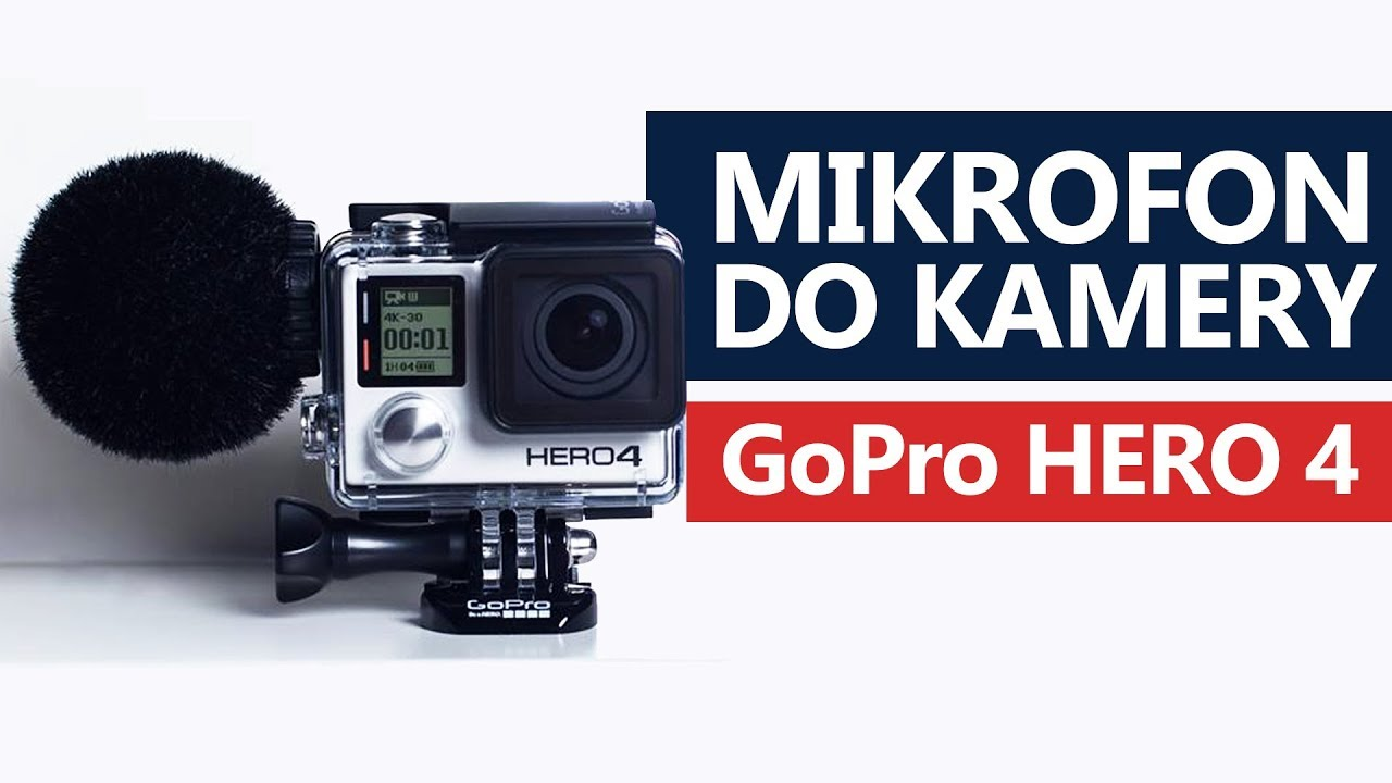 Mikrofon do GoPro Hero 4 – Sennheiser MKE-2 Elements