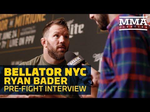 Ryan Bader Making Much More in Sponsorship for Bellator Debut - MMA Fighting