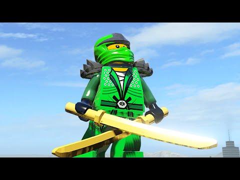 НИНДЗЯГО в LEGO Marvel Super Heroes