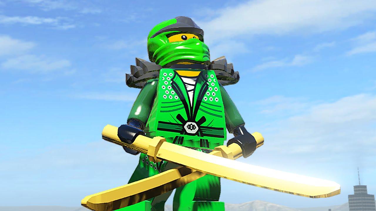 Лего Ниндзя Го Зелёный Ниндзя Фото