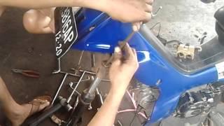 Tutorial Cara Buka, Ganti dan Pasang Seal Shock Depan Motor Yamaha Vega R