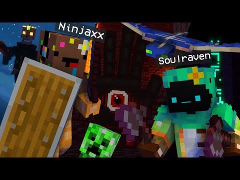 Minecraft mais on affronte des Boss Cheat avec Ninjaxx