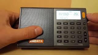 Продажа и обзор радиоприемника XHDATA D-808.