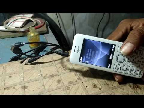 Nokia 206 Charging Solution Problem Ways Charging ...