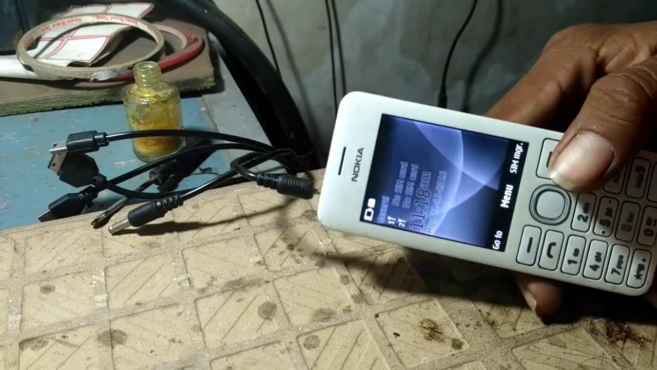 Nokia 206 Charging Solution Problem Ways Charging