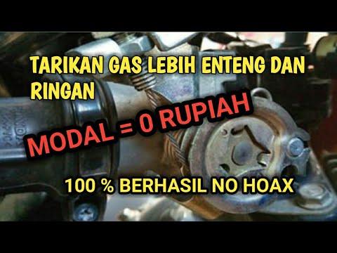 Cara Meringankan Tarikan Gas Vario 125/150