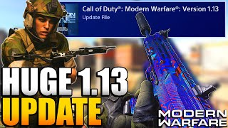 All Changes in 1.13 Update | New Crossbow, Classes, and More | Modern Warfare