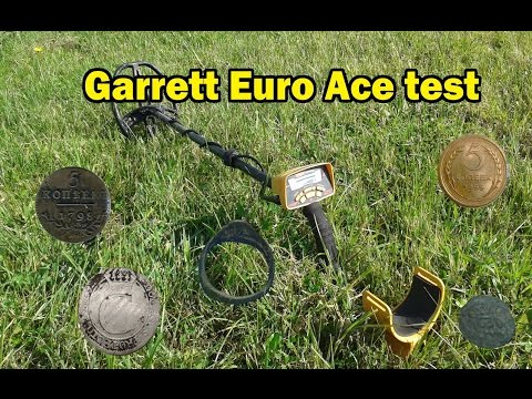 Garrett Euro Ace depth test