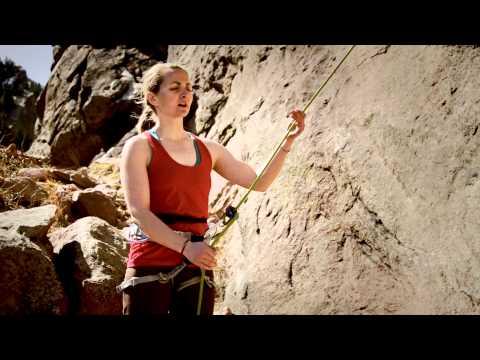 Rock Climbing Basics Toprope Belay Technique