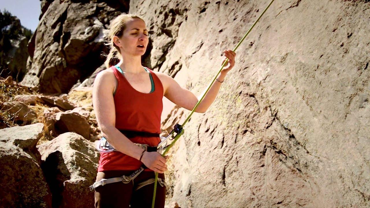 Rock Girl Wallpaper Rock Climbing Basics Toprope Belay Technique Youtube