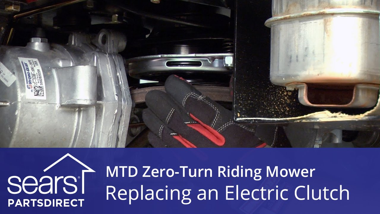 How To Replace An Mtd Zero-turn Riding Mower Electric Clutch