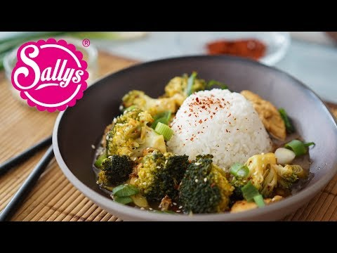 asiatisches-brokkoli-chicken-mit-jasminreis-/-20-minuten-rezept-/-sallys-welt