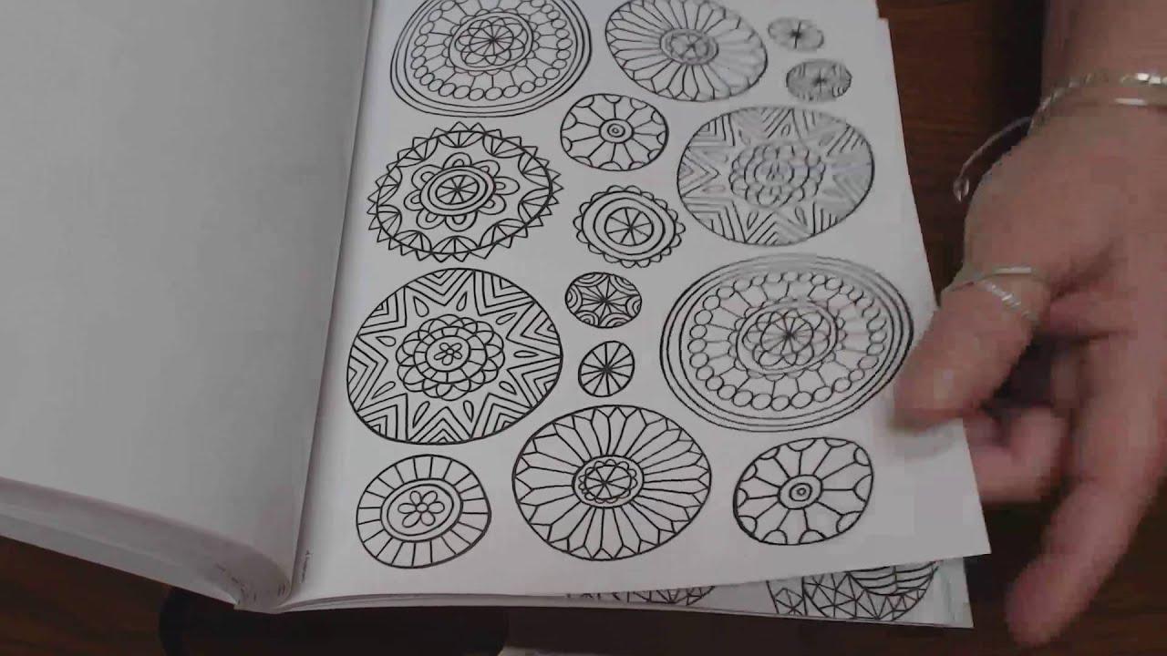86 Crayola Folk Art Escape Coloring Book So Relaxing