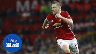 Watch Jose Mourinho blast Manchester United defender Luke Shaw - Daily Mail