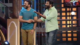CINEMAA CHIRIMAA Episode 105; Jayasurya & Kollam Siraj With Siddique (full) 8th Dec.