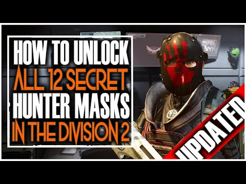 how-to-get-all-12-secret-hunter-mask-in-division-2-|-all-locations-and-8-ivory-keys-updated