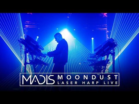 Madis - Moondust (Laser Harp Live Performance)