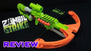 [REVIEW] Nerf Zombie Strike Dreadbolt | Unboxing, Review, & Firing Demo