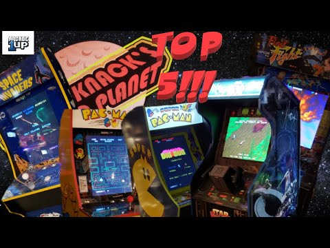 Top Five Best Arcade 1up Cabs (That I Happen to Own) from Knick-Knack's Plastic Planet