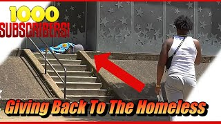 GIVING BACK TO THE HOMELESS Around Pittsburgh !!!!!!!! | 1K SPECIAL