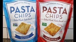 Authentic Italian Pasta Chips: Mediterranean Sea Salt & Marinara Review