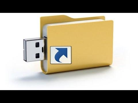 Файлы на флешке стали ярлыками, как исправить?